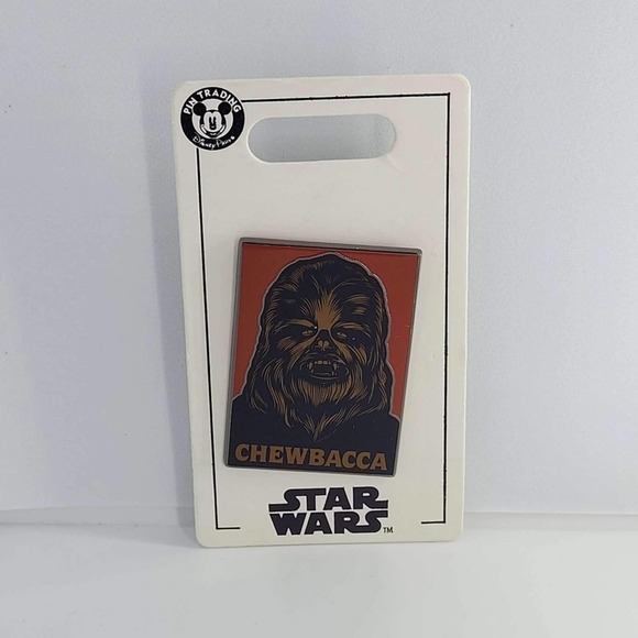 Disney authentic Star Wars pin Chewbacca